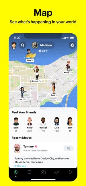تنزيل برنامج سناب شات للايفون 2021 Snapchat For iPhone 4